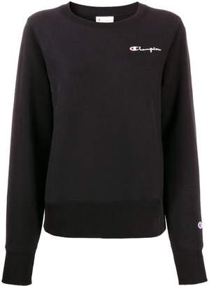 Champion logo embroidery sweatshirt