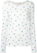 Chinti and Parker rainbow spot T-shirt - women - Organic Cotton - XS