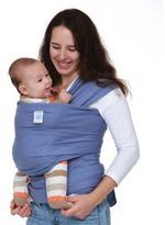 Moby Wrap Organics Baby Carrier in Lagoon