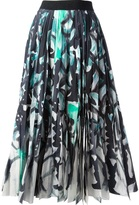 Tsumori Chisato printed pleated skirt