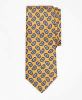 Brooks Brothers Tossed Pine Print Tie