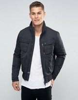 Tommy Hilfiger Bomber Jacket With Insulation In Black