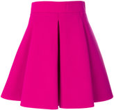 Fausto Puglisi flared mini skirt - women - Silk/Acetate/Virgin Wool - 40
