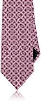 Ermenegildo Zegna Men's Octagon & Square Silk Necktie-PINK