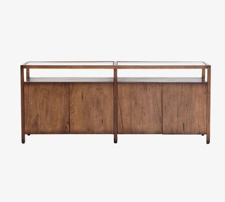 "Pottery Barn Parkview 70"" Reclaimed Wood Media Console"