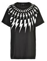 Neil Barrett Maxi T-shirt In Cotone