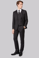 DKNY Slim Fit Grey Textured Suit