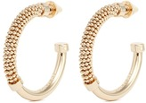 Eddie Borgo 'Orissa' beaded hoop earrings
