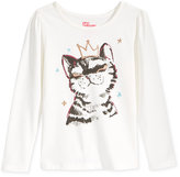 Epic Threads Mix and Match Graphic-Print Long-Sleeve T-Shirt, Toddler & Little Girls (2T-6X), Only at Macy's