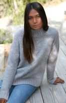 MinkPink Now & Then Chunky Mock Neck Sweater