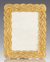 """Jay Strongwater Braided 3.5"""" x 5"""" Frame"""