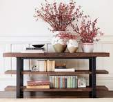 Pottery Barn Griffin Reclaimed Wood Media Console, Dusty Safari
