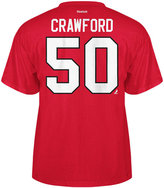 Reebok Men's Corey Crawford Chicago Blackhawks Player T-Shirt