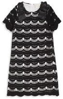 Kate Spade Toddler's & Little Girl's Scalloped Lace Dress
