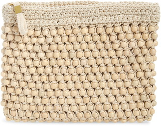 Madewell The Beaded Crochet Pouch Clutch