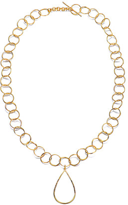 Genevive 14K Over Silver Necklace