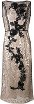 Antonio Marras metallic lace dress - women - Polyester/Viscose - 42