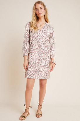 Anthropologie Stephany Leopard Tunic By in Assorted Size 1 X