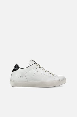 Leather Crown Iconic Low Top Sneakers