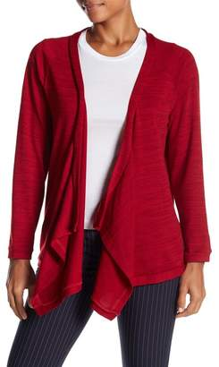 Papillon Draped Open Front Cardigan