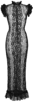 Dolce & Gabbana Stretch Lace Sheath Dress