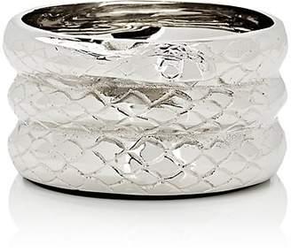 Thomas Laboratories Fuchs Serpent Wine-Bottle Coaster - Silver