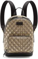 Gucci GG Supreme bee-print backpack