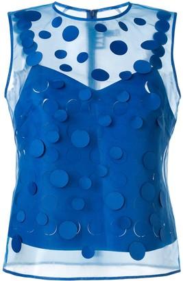 PASKAL clothes laser-cut blouse