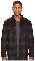 Vince Plaid Military Jacket Men's Coat