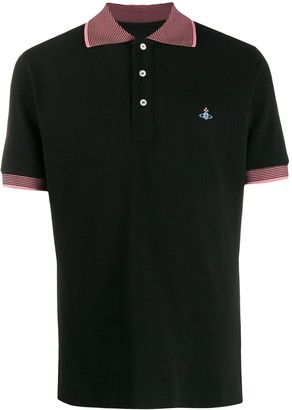 Vivienne Westwood Contrast-Collar Polo Shirt