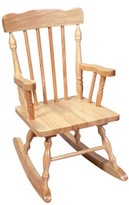 Gift Mark Kids' Colonial Rocking Chair - Natural