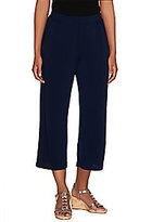 George Simonton As Is Pull- On Crystal Knit Crop Pants with Pockets