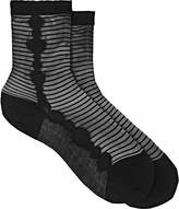 Antipast Women's Sheer-Striped Ankle Socks