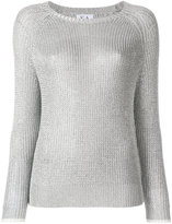 Zoe Karssen metallic knit sweater