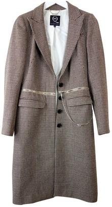 McQ Brown Wool Coat for Women