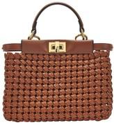 Fendi Peekaboo mini leather handbag