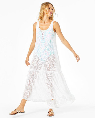 Lilly Pulitzer Camellia Maxi Cover-Up
