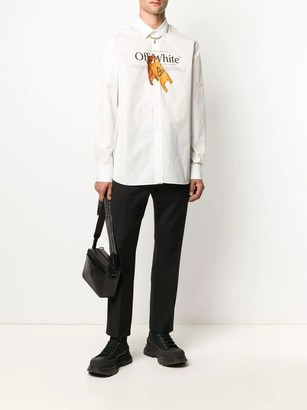 Off-White Pascal Wet Floor Basic Shirt