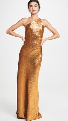 Galvan Gilded Roxy Sequin Dress