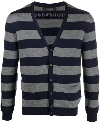DSQUARED2 Striped Cardigan