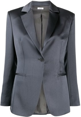 P.A.R.O.S.H. Fitted One-Button Blazer
