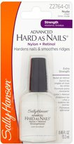 Sally Hansen Advanced Hard As Nails With Nylon & Retinol # 2764-01 by for Unisex - 0.45 oz Nail Color