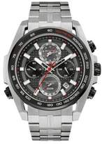 Bulova Men's Precisionist Stainless Steel Chronograph Watch