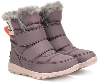 Sorel Whitney fur-lined ankle boots