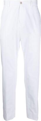 Dolce & Gabbana Mid-Rise Straight Leg Chinos