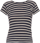 Nlst Mid-weight striped cotton T-shirt