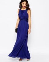Coast Daniellea Maxi Tie Back Dress