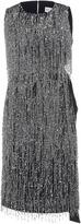 Dice Kayek Sequin Embellished Knee Length Dress