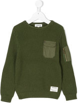 Zadig & Voltaire Kids ribbed jumper