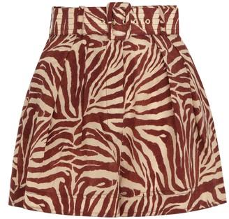 Zimmermann Silk Utility Shorts